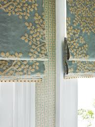 Roman Curtains Where There Is No Curtain Drawback Space A Plush Fabric Blind