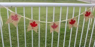daydreams of quilts canada day flag bunting tutorial