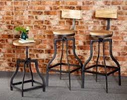 Vintage Industrial Bar Stool Bar Stools Leather Bar Stools Industrial Bar Stools Mid Century