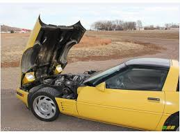 1991 corvette colors 1991 yellow chevrolet corvette coupe 88284171 photo 7 gtcarlot