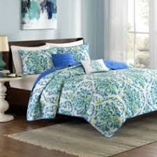 Coverlet Sets Bedding Lionna In Blues And Greens Coverlet Sets By Intelligent Design