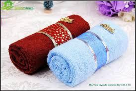 wedding gift towels microfiber gift towel packing cake souvenir towel flower wedding
