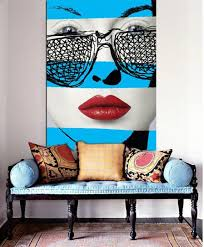 Best Pop Art Interior Design Images On Pinterest - Modern art interior design
