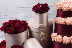 burgundy roses preserved roses burgundy roses