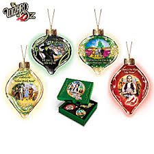 christmas ornament sets wizard of oz ornament collection