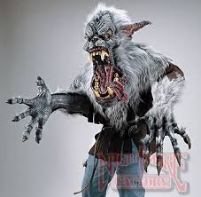 Werewolf Mask Creature Reacher Midnight Howl Deluxe Werewolf Costume In Unisex