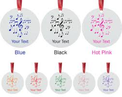 Music Note Christmas Tree Ornament by Music Note Ornament Etsy