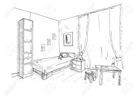 table for children s room children s room in the corner of the room is a bed next to