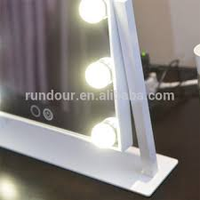 black touch control lighted makeup mirror hollywood style makeup cosmetic mirrors lighted vanity mirror with