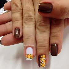 40 beautiful thanksgiving nail designs for fall season