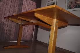 white oak trestle table finewoodworking