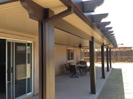 Patio Covers Houston Tx by Two Toned Alumawood Patio Cover I Greenbee Greenbee Patio Covers