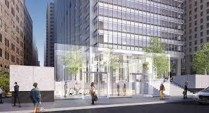 Glass Pavilion Developer Wants To Put Glass Cubes On Landmarked 28 Liberty Plaza