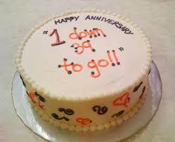1st year anniversary ideas 1st year anniversary cake beth s