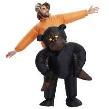 new christmas women men riding inflatable gorilla costume cosplay