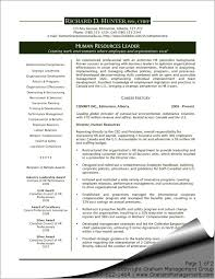exles of hr resumes executive resume sles fungram co