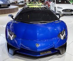 Blue Lamborghini Aventador - open your cheque book this lamborghini aventador sv doesn u0027t come