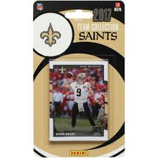 new orleans saints collectible trading cards saints collectibles