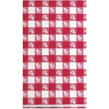 red gingham tablecover walmart com