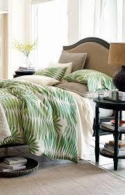 bedding design organic leaf decor bedroom modern decor