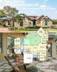 architectural designs hill country house plan 28339hj gives you 3