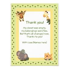 thank you notes for baby shower luxury baby shower thank you card wording general baby shower