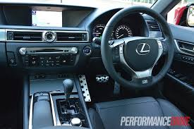 lexus interior 2012 2012 lexus gs 450h f sport review video performancedrive