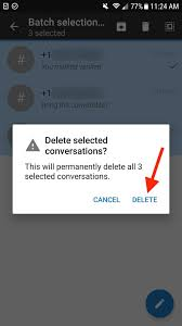 signal 101 how to quickly delete all your messages at once