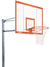 porter 6 u0027 vertical post playground basketball hoop with 72