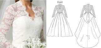 wedding dress pattern kate middleton wedding gown archives what kate wore