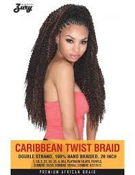 twisted sombre hair zury synthetic crochet braid caribbean twist braid 20 elevate