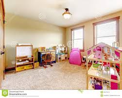 kids play room with toys interior royalty free stock photo