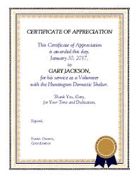 volunteering certificate template 100 images thanks for
