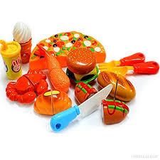 jeu de cuisine enfant 12pcs gâteau pizza à découper jeu d imitation de cuisine jouet