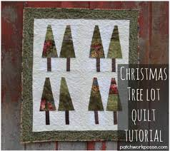 christmas tree lot wall hanging tutorial