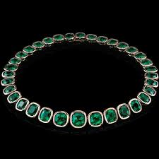 emerald gemstone necklace images Angelina jolie opens school in afghanistan funded by her jewelry jpg