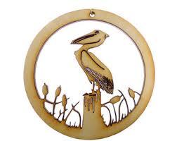 pelican ornament etsy