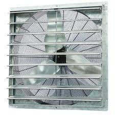 shutter exhaust fan 24 iliving 6100 cfm power 36 in single speed shutter exhaust fan