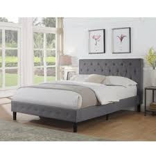 Upholstered Bed Frame Cole California by King Size Platform Beds You U0027ll Love Wayfair