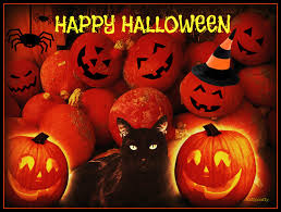 black cat halloween background halloween wallpaper for pc wallpapersafari