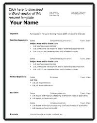 resume templates 2015 free download resume resume template download for word