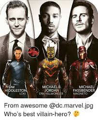 Magneto Meme - michael b jordan erik killmonger tom michael hiddleston loki
