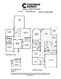 wimberly plan willow wood chesmar homes dallas