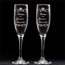 wedding glasses toasting flutes personalized toasting flutes wedding glasses