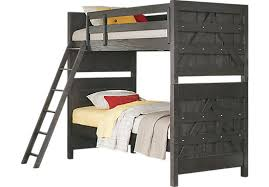 gray bunk beds