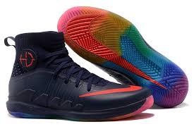 Nike Basketball Shoes advanced design nike hyperdunk 2017 navy blue multi color s