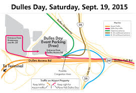 Washington Dc Traffic Map by Dulles Day Family Festival And Plane Pull Metropolitan