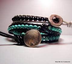 bracelet patterns leather images How to make leather jewelry 10 tutorials to try jpg