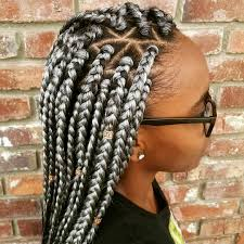 grey and purple combined together style box breads follow pinterest theyloveesyiee box braids pinterest grey box