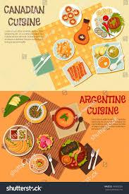 cuisine est canadian argentine cuisine grilled beef steaks เวกเตอร สต อก
